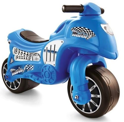 אופנוע הראשון שלי - אופנוע דחיפה ואיזון לגיל שנתיים ומעלה - כחול