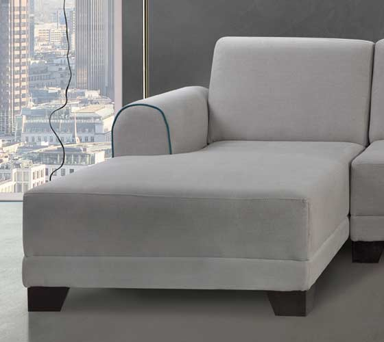 ספת שזלונג בעיצוב מודרני מבד איכותי נוח ומפנק דגם שחף כולל 2 כריות נוי מתנה - תמונה 2