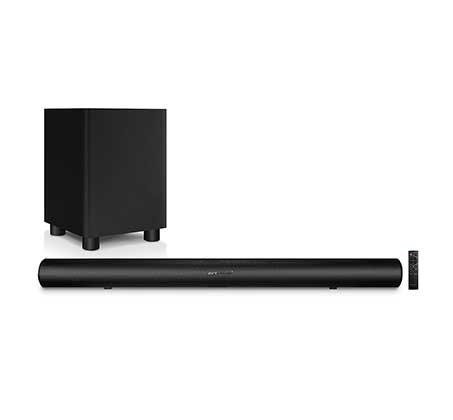 סאונד בר PURE ACOUSTICS Bluetooth עם סאב וופר אלחוטי בעוצמה 225W דגם DREAM PARTY