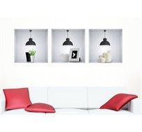 מדבקת קיר - מודרן ליין מסדרת Touch Of Art, לעיצוב הסלון, המטבח, חדרי שינה ועוד