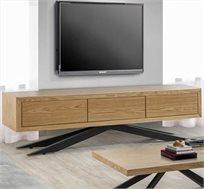 מזנון לסלון בעיצוב מודרני בעל שלוש מגירות דגם אורן