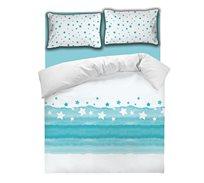 סט מצעים דגם OCEAN למיטה זוגית DONNA CASA
