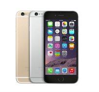 """סמארטפון Apple iPhone 6s גודל מסך """"4.7 עם זיכרון 64GB מצלמה 12MP + מגן סיליקון אחורי מתנה מחודש"""