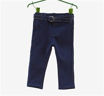 מכנסי סטרץ' OVS עם חגורה לילדים - כחול