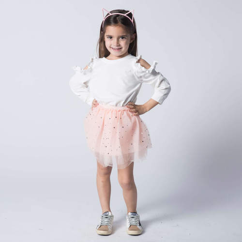 Oro חצאית טוטו(7-4 שנים)- וורודה