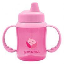 כוס שתייה לתינוק - ורוד