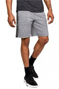 מכנס אימון קצר לגבר UNDER ARMOUR דגם 1306496-035 בצבע אפור