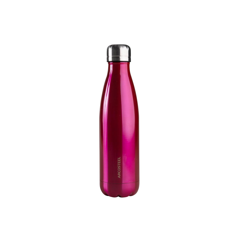"""בקבוק שתייה בעיצוב טרופי במגוון צבעים לבחירה 500 מ""""ל"""