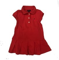 Tommy Hilfiger שמלה (3-4 שנים) - פולו אדום