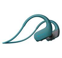 אוזניות ספורט משולבות עם MP3 דגם NW-WS413