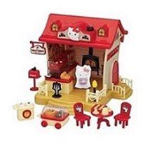 מסעדת הלו קיטי המכילה דמות קיטי למשחק חוויתי מלא דימיון והנאה - משלוח חינם!