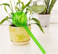 סט שלוש בועות השקיה אוטומטיות לעציצים המשקה עד 10 ימים ללא התערבות