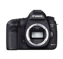 מצלמת Canon EOS 5D Mark III עם מעבד DIGIC 5+ בעלת 22.3MP ו-61 נקודות מיקוד + עדשת 24-105
