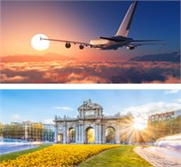 טיסות למדריד בקיץ בחודשים יולי- אוגוסט רק בכ-$266* לאדם!