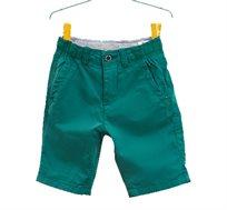 מכנסי ברמודה OVS קצרים לבנים - ירוק