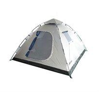 """אוהל פתיחה מהירה CAMPTOWN ל-4  אנשים   235/210/130 ס""""מ INSTANT +סט 4 יתדות LED מוארים לאוהל מתנה"""