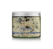 Salt and herbs bath מלח אמבט וצמחי מרפא מסדרת Aromatherapy ים המלח
