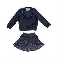 ORO חליפה  (14-2 שנים) - זמס אפור כהה