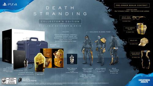 Death Stranding Collector's Edition Ps4 אירופאי! מכירה מוקדמת! משלוח חינם - תמונה 2
