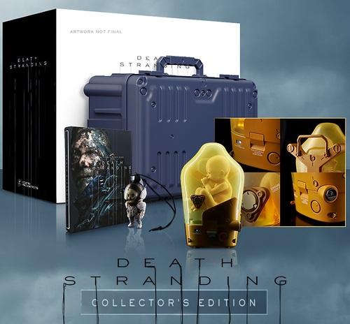 Death Stranding Collector's Edition Ps4 אירופאי! מכירה מוקדמת!