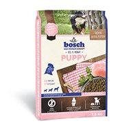 מזון BOSCH  לגורים מגזע קטן/בינוני + חטיף מתנה