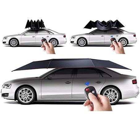 סוכך נייד חשמלי לרכב להצללה והגנה הן לחנניה בבית / בחוץ