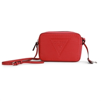 Guess נשים // Baldwinpark Crossbody Top Zip Red