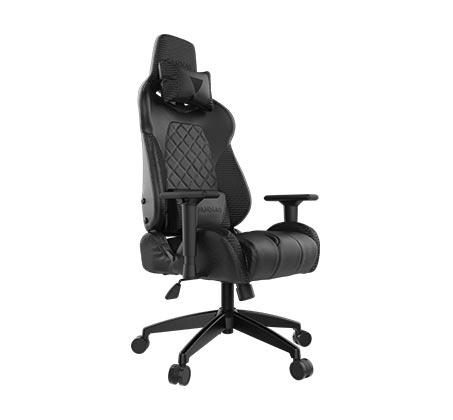 כיסא גיימינג Gamdias ACHILLES E1 כולל כרית ראש וגב עם תאורת RGB בגב הכיסא וגב מתכוונן עד 150 מעלות - תמונה 2