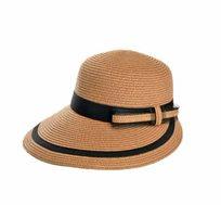 כובע רחב שוליים גליה בצבע בז'