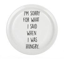 זוג/רביעיית צלחות גדולות - I'M SORRY