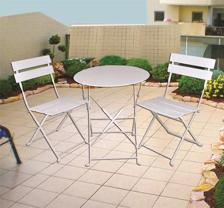 ברצינות סט ריהוט הכולל שולחן ו-2 כסאות מתקפלים לגינה ולמרפסת - משלוח חינם QZ-28