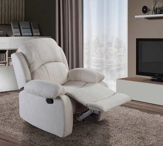 כורסאת טלויזיה בריפוד בד LEONARDO עם הדום נשלף נוחה ומפנקת במגוון צבעים לבחירה - תמונה 3