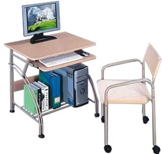משהו רציני סדר בחדר! שולחן מחשב קטן מעוצב וארגונומי לבית דגם הום בשילוב מתכת VQ-72