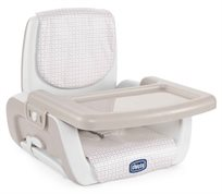 מושב הגבהה מתקפל לתינוק עם מגש MoDe בז' נקודות