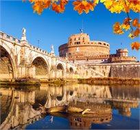 """8 ימי טיול מאורגן לרומא ודרום איטליה כולל לינה ע""""ב א.בוקר החל מכ-$575* לאדם!"""