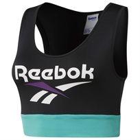 Reebok נשים // Vector Bra Top Black