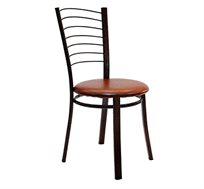 כסא מטבח בריפוד סקאי דגם באלי במבחר גוונים לבחירה