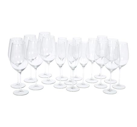 סט כוסות יין 18 חלקים CASA MODERNA
