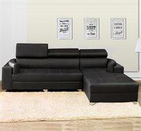 ספה פינתית עם משענות מתכווננות VITORIO DIVANI דגם אנג'לה