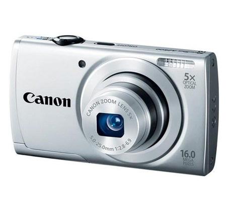 מצלמת CANON קטנה ומדליקה עם 16MP