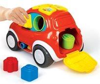 מכונית התאם צורה אינטרקטיבית 3 ב 1