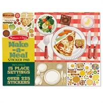 חוברת מדבקות מכינים ארוחה - Melissa & Doug