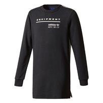 Adidas בנים// Eqt Long Sweatshirt