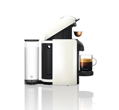 מכונת קפה NESPRESSO VertuoPlus בצבע לבן כולל מקציף חלב ארוצ'ינו דגם A3GCB2  - משלוח חינם - תמונה 4