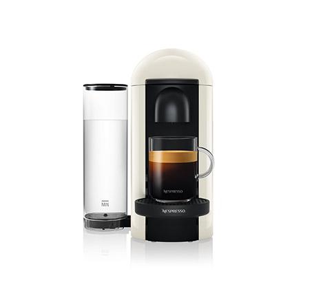 מכונת קפה NESPRESSO VertuoPlus בצבע לבן כולל מקציף חלב ארוצ'ינו דגם A3GCB2  - משלוח חינם - תמונה 3
