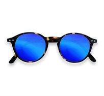 משקפי שמש עם עדשות מראה D# בצבע חום מנומר