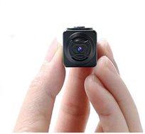 מצלמת וידאו זעירה למגוון שימושים בעלת מיקרופון רגיש לצילום סרטים ותמונות