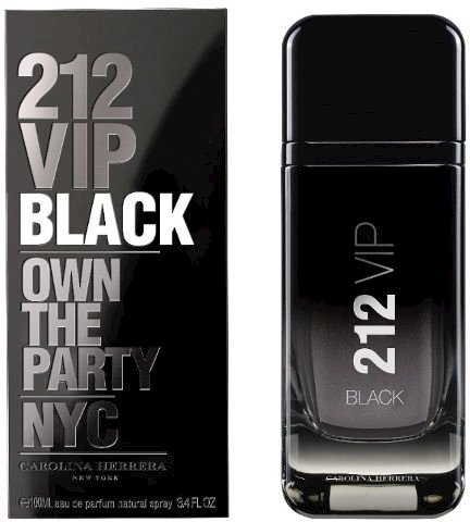 Carolina Herrera 212 Vip Black Own The Party