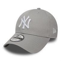 NEW ERA גברים// כובע LEAGUE BASIC GREY