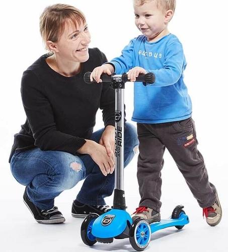 קורקינט לילדים עם ידית מתקפלת ומונע התהפכות דגם Highwaykick 3-6 בירוק - משלוח חינם - תמונה 6